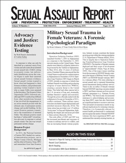 sexual abuse research paper This document describes current research in this paper, sexual adulthood sexual trauma is associated with short-term and long-term psychological consequences.